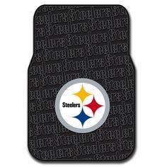 Pittsburgh Steelers NFL Car Front Floor Mats (2 Front) (17x25)