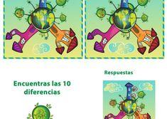 JUEGOS DE ENCONTRAR DIFERENCIAS ® Fichas infantiles Comics, Kids, Crafts, Babies, Adhd Kids, Preschool Language Activities, Fun Activities, Kid Games, I Found You