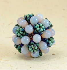 (pic) Bubbles Beaded Bead | biser.info - all about beads and beaded works