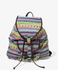 Southwest Patterned Backpack | FOREVER21 - 1044955834