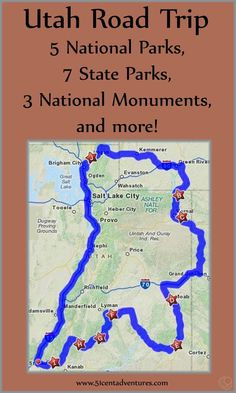 Even if you are familiar with Utah you might be surprised at some of the places on this list. We stopped in all five National Parks, seven State Parks, three National Monuments, and a handful of other places of interest. Road Trip Usa, Rv Travel, Places To Travel, Camping Places, Travel Gadgets, Adventure Travel, Travel Tips, Alaska Travel, Beach Camping