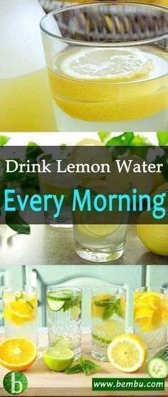 There's been a lot of talk about lemon water benefits and what it can do for your system when you drink it every day. Health Tips │ Health Ideas │Healthy Food │Food │Vitamin │Drinks │Detox │Smoothie Easy Detox, Healthy Detox, Healthy Smoothies, Healthy Drinks, Simple Detox, Healthy Juices, Healthy Habits, Healthy Foods, Healthy Life