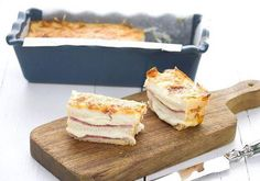 4 idées de croque-cake à emporter en pique-nique Picnic Cake, Sandwiches, Cordon Bleu, Barbecue, French Toast, Lunch Box, Menu, Pudding, Cheese