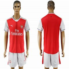 2016-2017 Arsenal club red soccer jersey home
