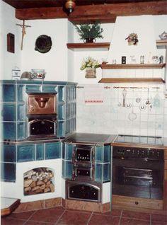 Herde - Hafnermeister Sulzer Kitchen Stove, Kitchen Appliances, Cabin Homes, Stoves, House Plans, Sofa, Fire, Architecture, Cooking