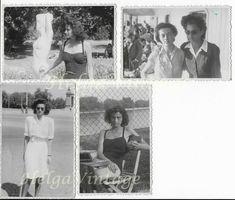 4 pcs. European mini BW photo-snapshot, stylish, beautiful woman, fashion 1950s' 1950s Women, Purse Styles, Female Portrait, Vintage Ladies, Vintage Fashion, Polaroid Film, Beautiful Women, Black And White, Woman Fashion