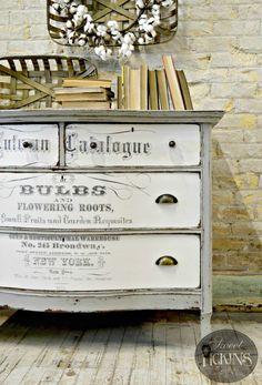 New Rub on Transfers – Tutorial! | Sweet Pickins Furniture