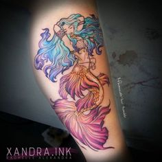 Mermaids tattoos ...