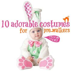10 Adorable Costumes for Pre-Walkers Best Baby Costumes, Cute Costumes, Halloween Costumes, Beautiful Babies, Trick Or Treat, Baby Dress, Little Ones, Mom, Portal