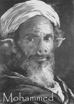 Mohammed, the goat loving child molester