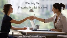 Young Women Activity: Preparing for a job interview