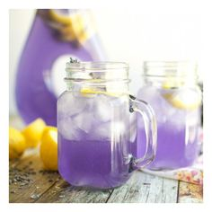 Sparkling Lavender Lemonade foodgawker ❤ liked on Polyvore featuring food & drink