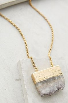 Anthropologie PAINTED DESERT PENDANT NECKLACE #anthrofave