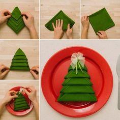 07-Christmas-Tree-Folded-Napkin