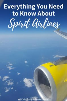 Spirit Airlines is one of the leading budget airlines in the US. Flying with Spirit can save you tons of money on a plane ticket, but you have to know these tips before you go to keep your costs low. I'll share ways to avoid getting slammed by fees and my experience with Spirit Airlines. You'll definitely want to check this out and save it to your travel board before your next trip. Packing Tips For Travel, Travel Advice, Travel Guides, Travel Hacks, Budget Travel, Airline Travel, Solo Travel, Travel Usa, Airline Reviews