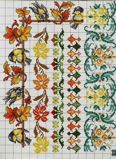 Cross Stitch Bird, Cross Stitch Flowers, Blackwork, Diy And Crafts, Birds, Embroidery, Canvas, Pattern, Stitch Patterns