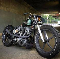 Bobber Inspiration - Bobbers and Custom Motorcycles Bobber Bikes, Bobber Motorcycle, Cool Motorcycles, Motorcycle Style, Motorcycle Humor, Triumph Motorcycles, Ducati, Honda Cb750, Yamaha