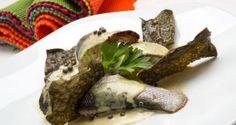 Receta de Lubina a la pimienta verde con algas fritas