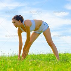 Mature Woman Athlete (adult, alone, athlete, athletic, attractive, beautiful, beauty, blue, bright, caucasian, exercise, female, fit, fitness, fun, girl, grass, green, health, healthy, human, jogger, landscape, lifestyle, nature, outdoor, outside, park, person, practice, pretty, recreation, runner, sky, slim, sport, spring, stretch, summer, train, training, vitality, wellbeing, wellness, white, woman, workout, young)