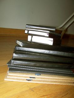 my moleskine collection #moleskine