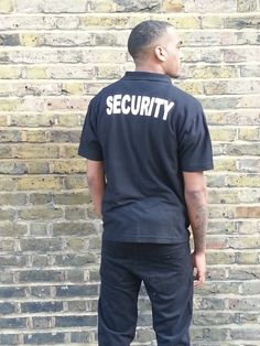 Security Polo T/Shirt by UrbanFashion01 on Etsy