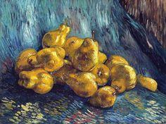 Vincent van Gogh - Quinces, 1888 (Galerie Neue Meister Staatliche Kunstammlungen Dresden Germany) Van Gogh: Up Close at Philadelphia Museum of Art (by mbell1975)