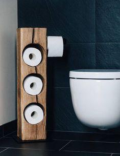 Graw Möbel Individuell Gestalteten Toilettenpapierhalter   Accessoire Für  Ihr Badezimmer! Handarbeit   Aus Eiche,