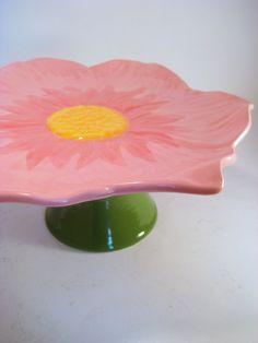Cake plate. ~