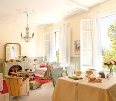Una casa muy femenina para cuatro mujeres · ElMueble.com · Casas