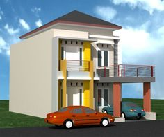 40 Examples of Minimalist House Plans Type 36 Various Models Two Storey House Plans, Latest House Designs, Simple House Design, Staircase Design, Little Houses, Minimalist Home, Art Decor, Home Decor, Easy Diy