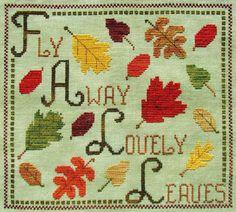 Leaves - Cross Stitch Patterns & Kits (Page 2) - 123Stitch.com