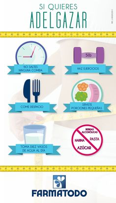 Si quieres adelgazar… #Salud