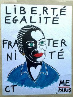 Me Paris - street art - rue pierre au lard, paris 4