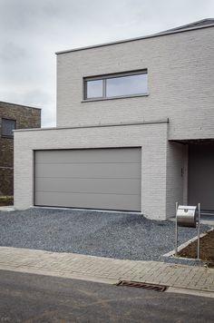 architectenvennootschap arch_ID — Verbouwing hoeve tot ééngezinswoning Lofts, Ramen, Facade, Garage Doors, Outdoor Decor, Houses, Future, Home Decor, Projects