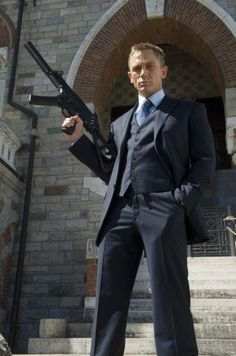 ♂ Manly Icon: James Bond, Agent 007 - Portrayed here by Daniel Craig