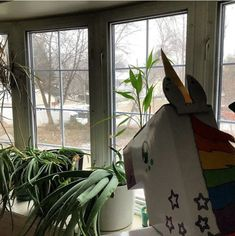 Hodge the Unicorn likes snow, but she doesn't care for shoveling. American Academy Of Pediatrics, Melissa & Doug, Our Kids, Labs, Unicorns, More Fun, Best Gifts, Parenting, Gift Wrapping