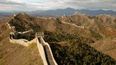 Great Wall Of China, Mongolia #travel #destinations #places