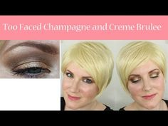 Too Faced Champagne and Creme Brulee Tutorial