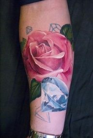 Realistic rose | http://wonderfultatoos.blogspot.com