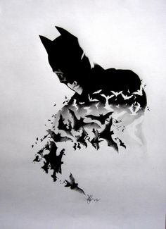 amazing pencil only batman drawing