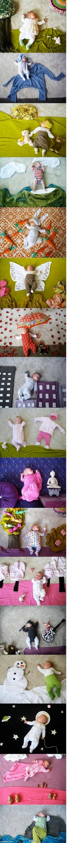 Cute Baby Photo Props
