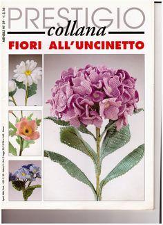 Hobby lavori femminili - ricamo - uncinetto - maglia: fiori all'uncinetto settembre 2002 alexandra editr...