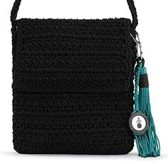The SAK Casual Classics Flap Cross Body Black One Size * Click image to review more details.