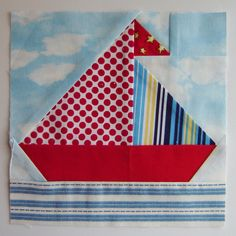 Nautical Baby Quilt, Patchwork Quilt Patterns, Baby Boy Quilts, Square Quilt, Pattern Blocks, Quilt Making, Paper Piecing, Quilting Designs, Quilt Blocks