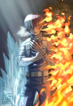 Shoto Todoroki (My Hero Academia) Anime Boys, Manga Anime, My Hero Academia Shouto, Hero Academia Characters, Photo Manga, Retro Kunst, Hero Wallpaper, Supernatural Fans, Animes Wallpapers