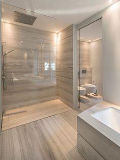 Simple Bathroom Designs, Contemporary Bathroom Designs, Bathroom Layout, Modern Bathroom Design, Washroom Design, Bathroom Design Luxury, Bathroom Design Inspiration, Home Room Design, Beautiful Bathrooms