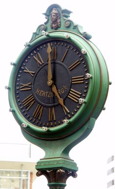 Hertzberg's Clock, on the corner of Houston and St. I love this clock and the memories it brings. Mantel Clocks, Old Clocks, Antique Clocks, As Time Goes By, The Time Is Now, San Antonio, Outdoor Clock, Time Clock, Grandfather Clock