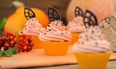 Babeczki wkolorze dyni Rezept | Dr. Oetker Miss Cupcake, Food, Rezepte, Essen, Yemek, Meals