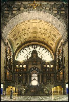 Antwerp Central Station, Belgium
