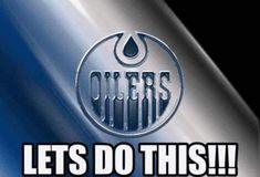 Go Oilers Go!!! Connor Mcdavid, Edmonton Oilers, Ice Hockey, Juventus Logo, Nhl, Team Logo, Hockey Puck, Hockey